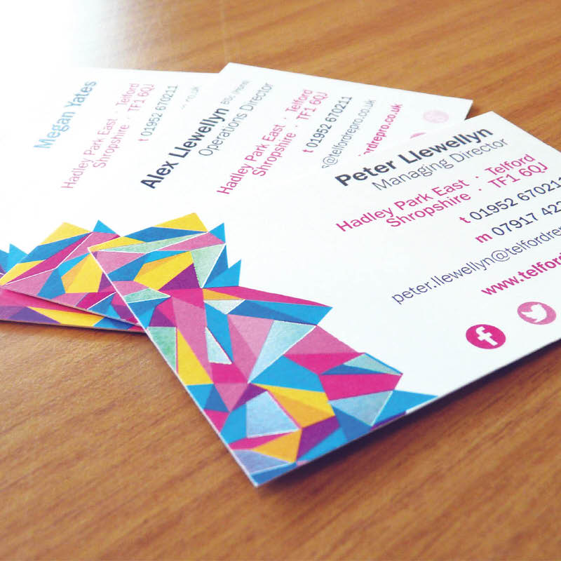Matt Laminated Business Cards - Telford Reprographics Ltd