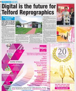 Shropshire star business editorial image